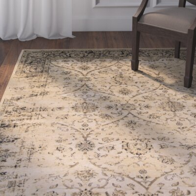 Bailor Ivory/Black Area Rug