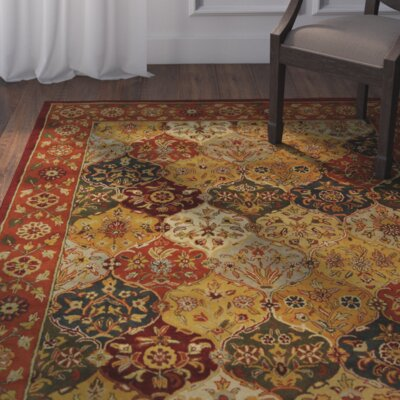 Balthrop Multi/Red Area Rug