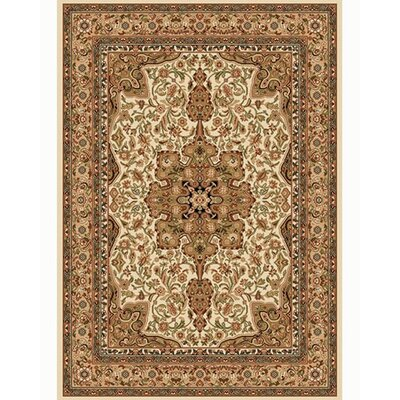 Caterina Ivory Area Rug Rug Size: Rectangle 79 x 105