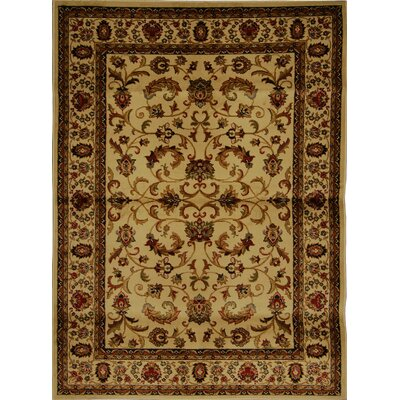 Caterina Beige Area Rug Rug Size: Rectangle 78 x 104