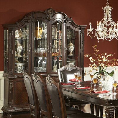Amalfi Lighted China Cabinet
