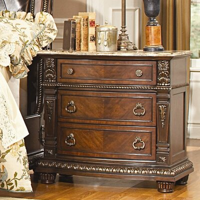 Amalfi 3 Drawer Bachelors Chest