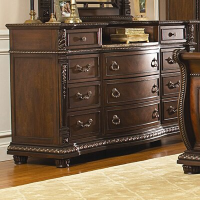 Amalfi 11 Drawer Standard Dresser