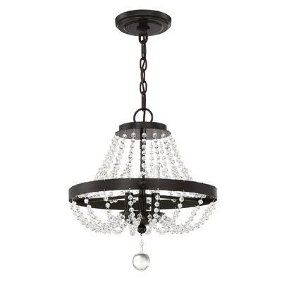 Moreell 3-Light Semi Flush Mount