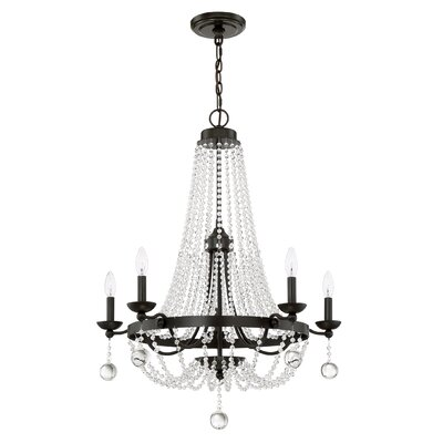 Moreell 5-Light Crystal Chandelier