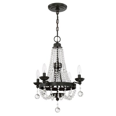 Moreell 4-Light Crystal Chandelier