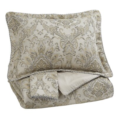 Mulhern 3 Piece Comforter Set Size: King