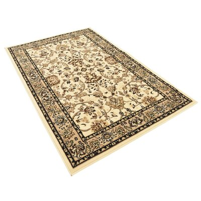 Essehoul Ivory Area Rug Rug Size: Rectangle 4 x 6
