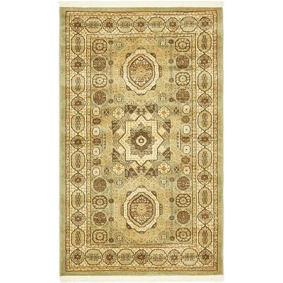 Laurelwood Brown Area Rug Rug Size: Rectangle 33 x 53