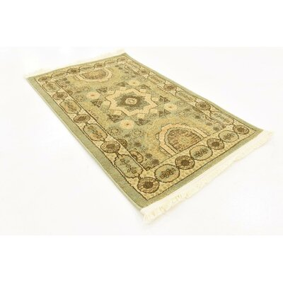 Laurelwood Brown Area Rug Rug Size: Rectangle 2 x 3