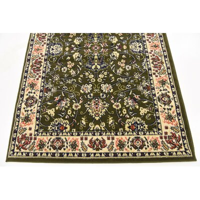 Concord Green Area Rug Rug Size: 7 x 10