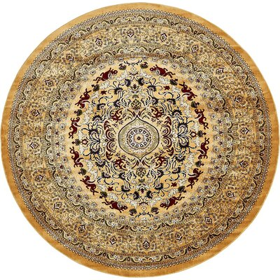 Coopersville Gold Area Rug