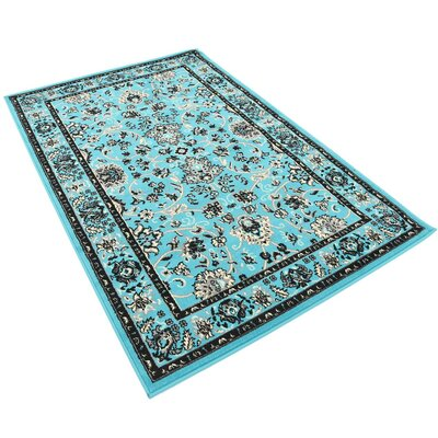 Concord Turquoise Area Rug