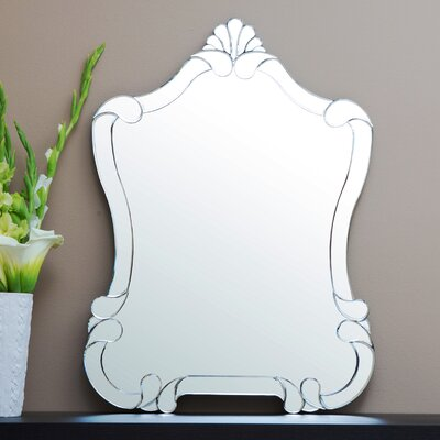 Irregular Silver Wall Mirror
