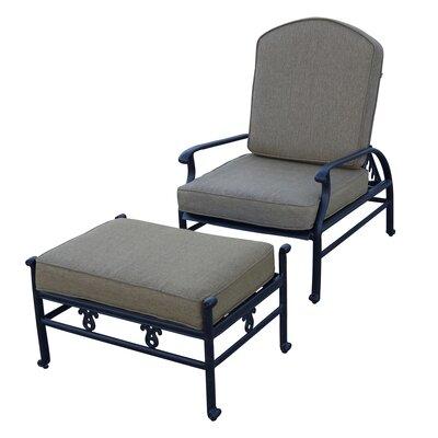Fairmont Club Chair and Ottoman Cushion