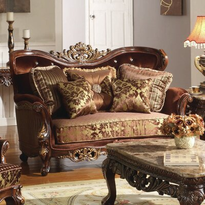 Astoria Grand ASTG5809 Colstrope Living Room Loveseat
