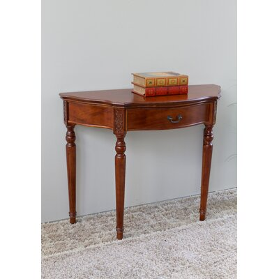Abramson Hand Carved Console Table