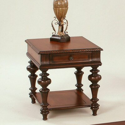 Turnham End Table With Storage