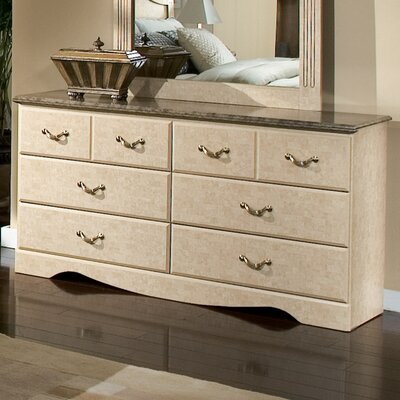 Tremaine 6 Drawer Double Dresser