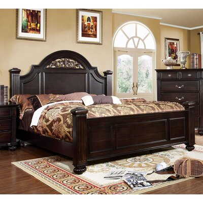 Wesleyan Panel Bed Size: California King