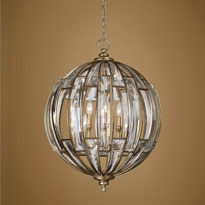 Wembley 6 Light Globe Pendant