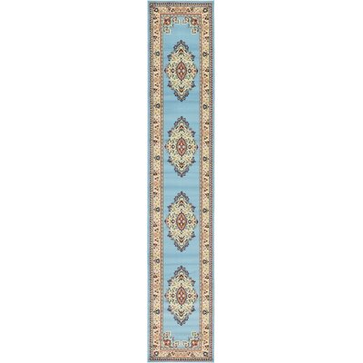 Carncastle Blue Area Rug Rug Size: Runner 3 x 165