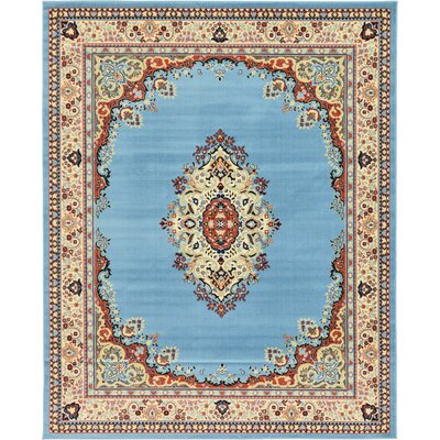 Carncastle Blue Area Rug Rug Size: 8 x 10
