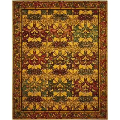 Charleson Stained Glass Area Rug Rug Size: 12 x 15