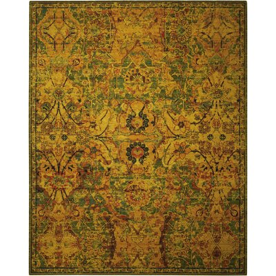 Timeless Olive Area Rug Rug Size: Rectangle 9'9
