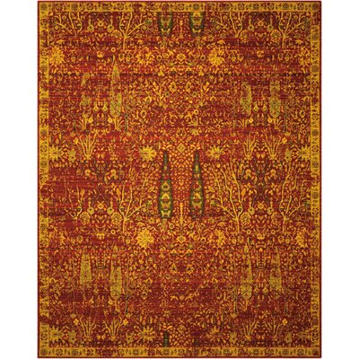 Charleson Scarlet Area Rug