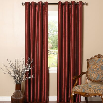 Angel Striped Blackout Curtain Panel