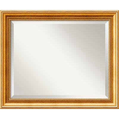 Hendry Gold Wall Mirror