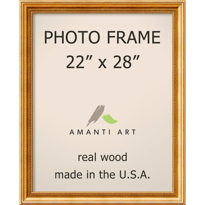 Hendry Gold Picture Frame Size: 22