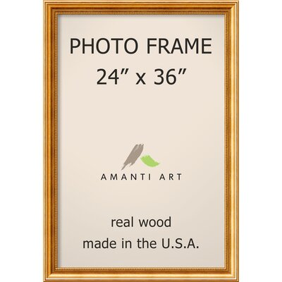 Hendry Gold Picture Frame Size: 24