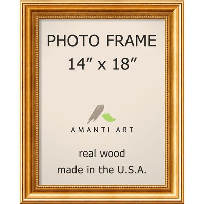 Hendry Gold Picture Frame Size: 14
