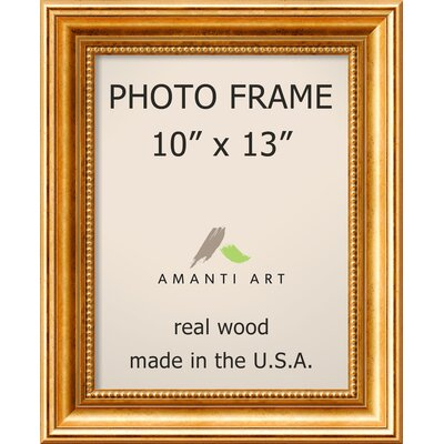 Hendry Gold Picture Frame Size: 10