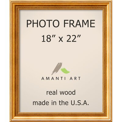 Hendry Gold Picture Frame Size: 18