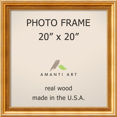 Hendry Gold Picture Frame Size: 20