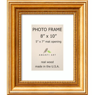 Hendry Gold Picture Frame Size: 5