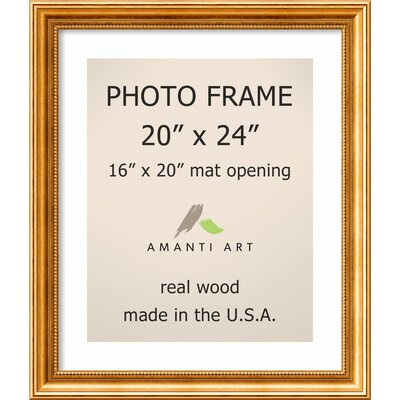 Hendry Gold Picture Frame Size: 16