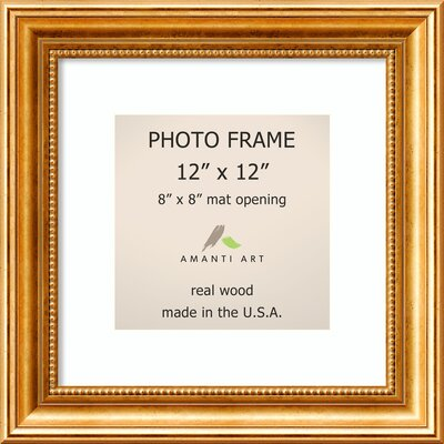 Hendry Gold Picture Frame Size: 8