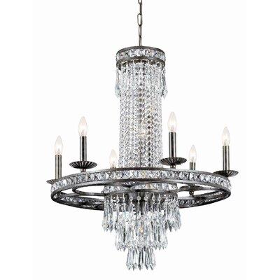 Markenfield 10-Light Crystal Chandelier