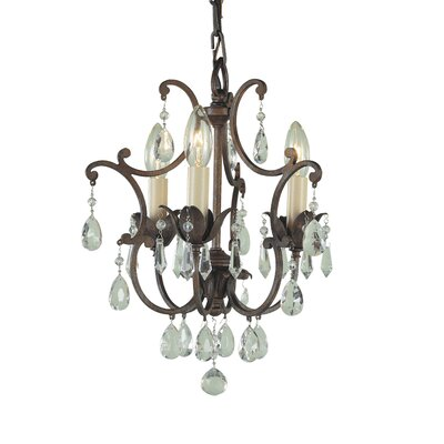 Drumavoley 3-Light Crystal Chandelier