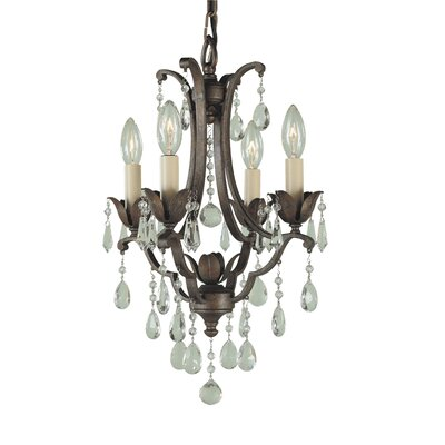 Drumavoley 4-Light Crystal Chandelier