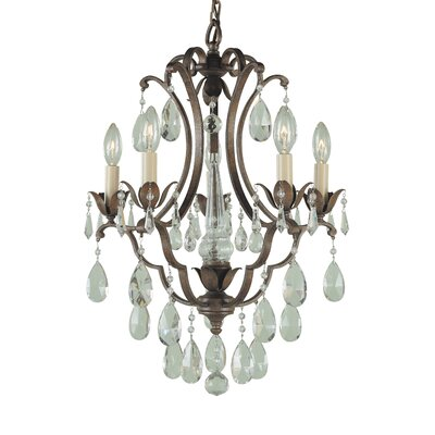 Drumavoley 5-Light Crystal Chandelier