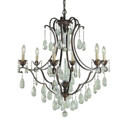 Drumavoley 6-Light Crystal Chandelier