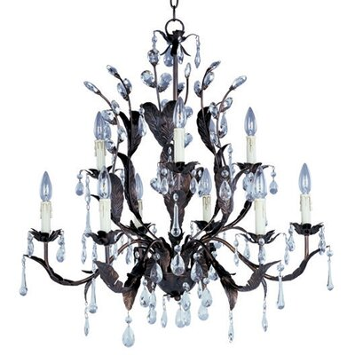 Bawden 9-Light Crystal Chandelier