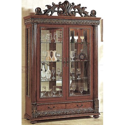 Conway Lighted Curio Cabinet