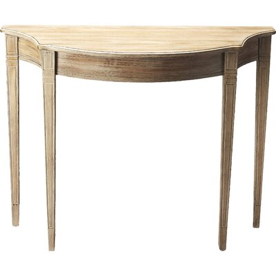 Allsopp Console Table Finish: Driftwood