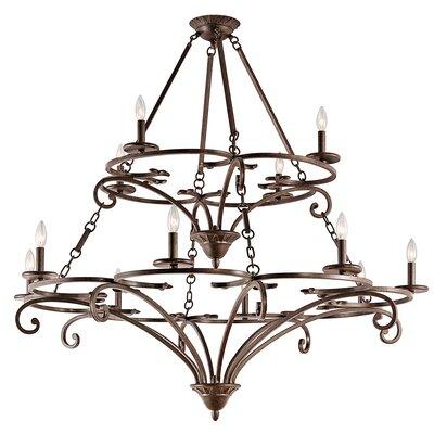Alperton 12-Light Candle-Style Chandelier